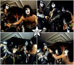 Kiss ~Rome Italy...December 2, 1982
