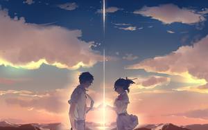Kimi no Na wa wallpaper