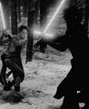 Kylo Ren and Rey - star-wars fan art