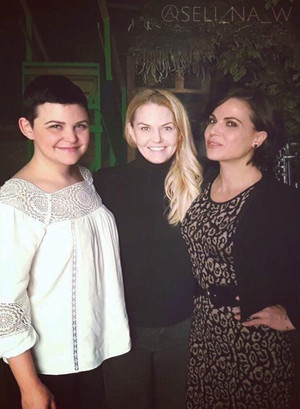 Lana, Ginnifer and Jennifer