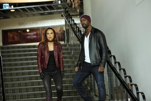 Lesley-Ann Brandt as Mazikeen in Lucifer - 'Trip to Stabby Town'
