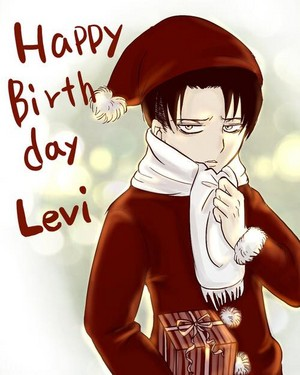 Levi Ackerman birthday प्रशंसक art