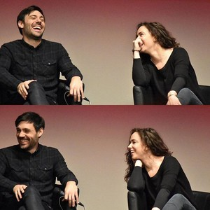 Liam Garrigan and Amy Manson at Fairy Tales IV in Versailles, France.