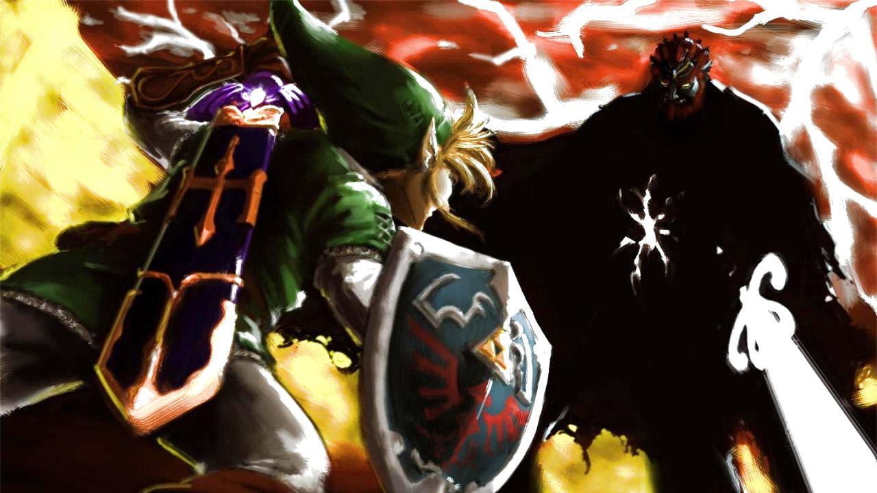 Link Vs Ganondorf The Legend Of Zelda Ocarina Of Time Fan