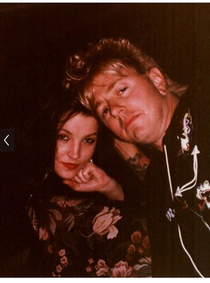 Lisa and Brian Setzer