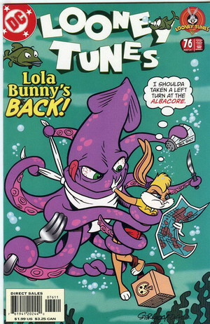 Lola Bunny Comic Book Cover Page