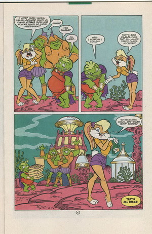Lola Bunny Comic Book Part 10