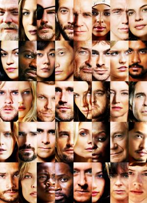로스트 Characters