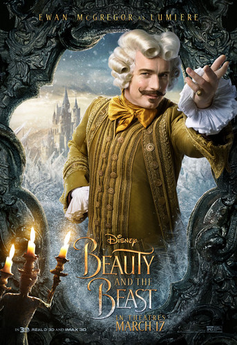 Beauty and the Beast (2017) hình nền titled Lumiere Poster