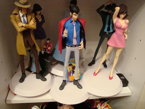Lupin The Third Figurines 001