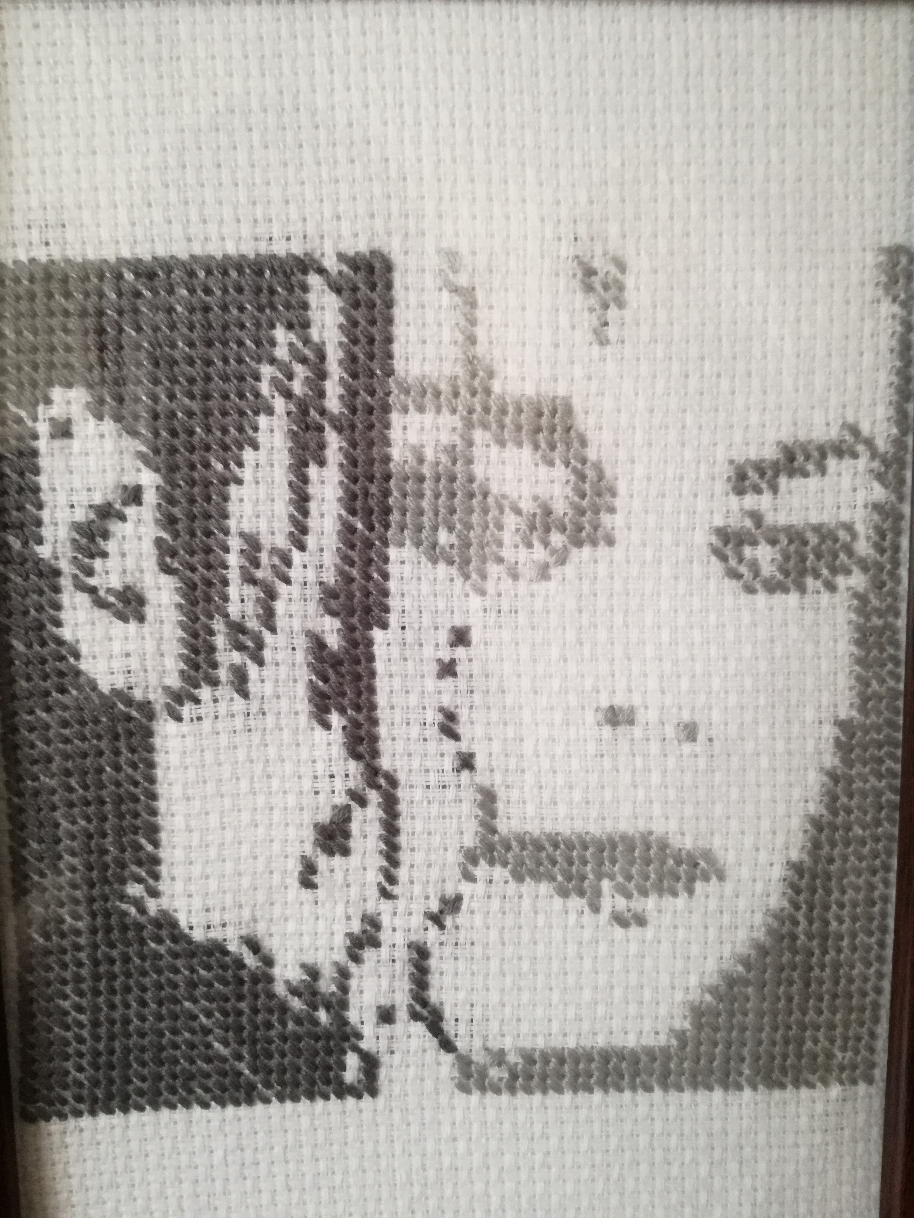 MJ face needlework
