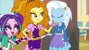 MLP regenbogen Rocks Adagio Flirting With Trixie54