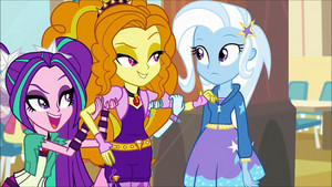 MLP regenbogen Rocks Adagio Flirting With Trixie60