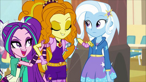 MLP regenbogen Rocks Adagio Flirting With Trixie63