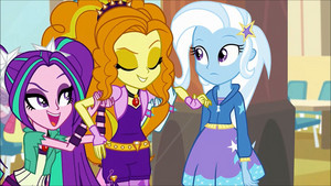 MLP regenbogen Rocks Adagio Flirting With Trixie66