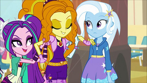 MLP regenbogen Rocks Adagio Flirting With Trixie71