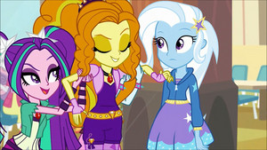 MLP regenbogen Rocks Adagio Flirting With Trixie72