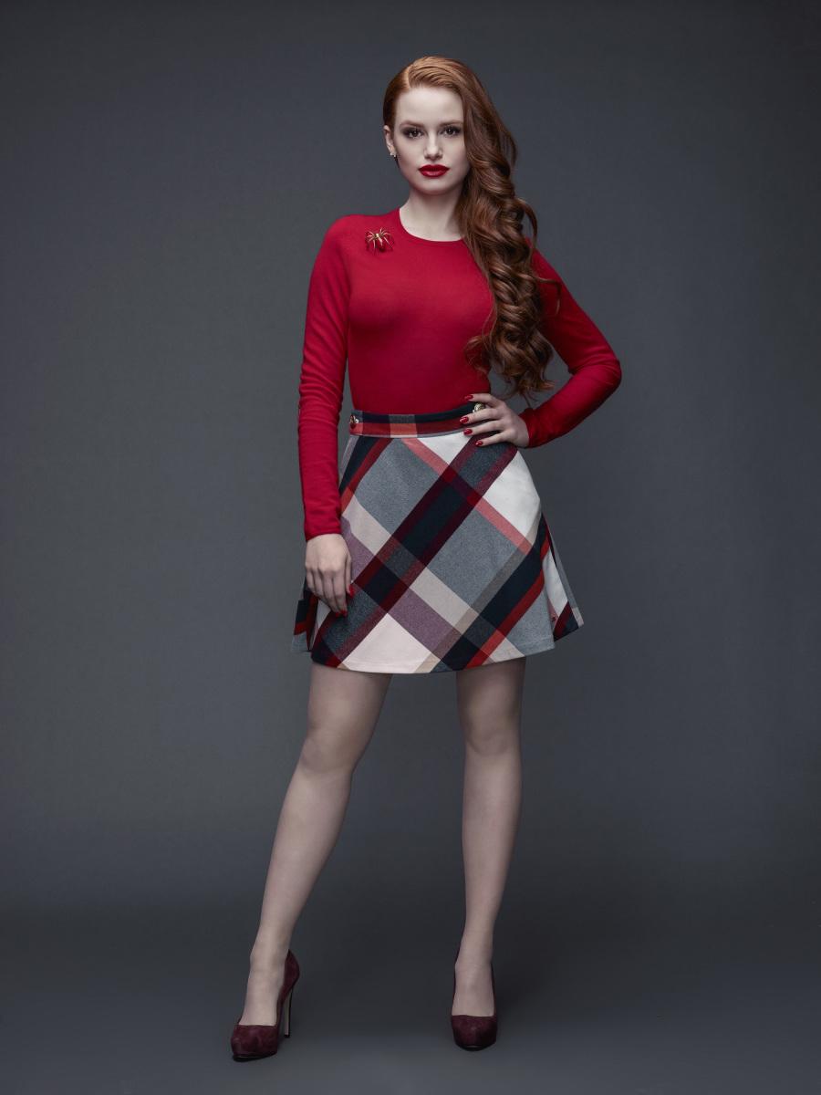 Madelaine Petsch as Cheryl Blossom