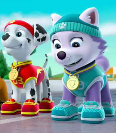 Marshall and Everest - PAW Patrol