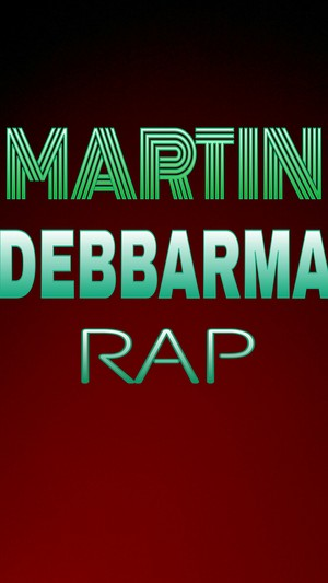 Martin Debbarma Rap Lyrics Artwork.