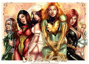 Marvel Divas por J Estacado