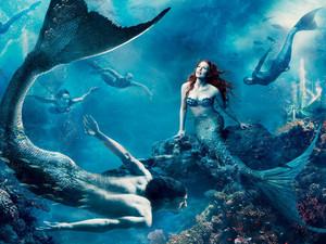 Mermaid and Merman
