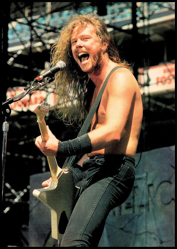 Metallica's, James Hetfield