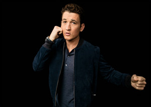 Miles Teller - AOL Build Photoshoot - 2016