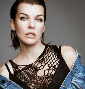 Milla Jovovich - Glass Magazine Photoshoot - 2016
