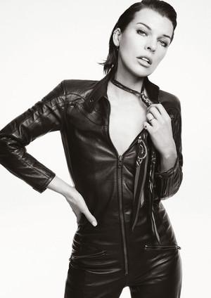 Milla Jovovich - Glass Magazine Photoshoot - 2016