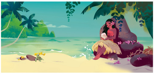 Disney's Moana wallpaper titled Moana Concept Art