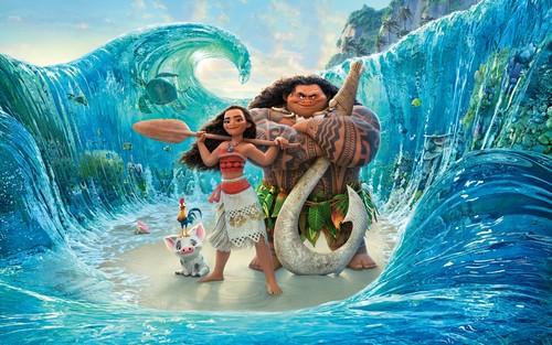 Disney's Moana wallpaper titled Moana