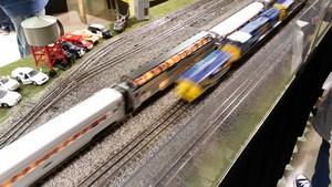 Model Train tunjuk