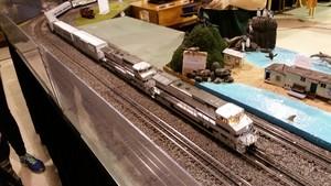 Model Train toon