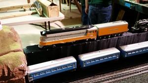 Model Train mostrar