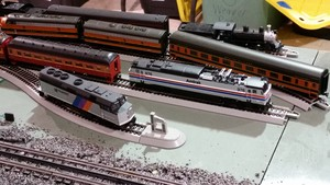 Model Train প্রদর্শনী