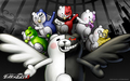 Monokuma And Cubs kertas dinding