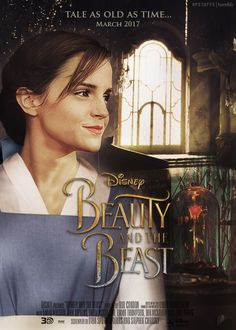 Beauty and the Beast (2017) wallpaper entitled Movie Poster:Beauty and Beast-2017