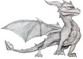 My spyro drawing - spyro-the-dragon fan art