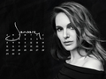 natalie-portman - NP.COM Calendar - January 2017 wallpaper