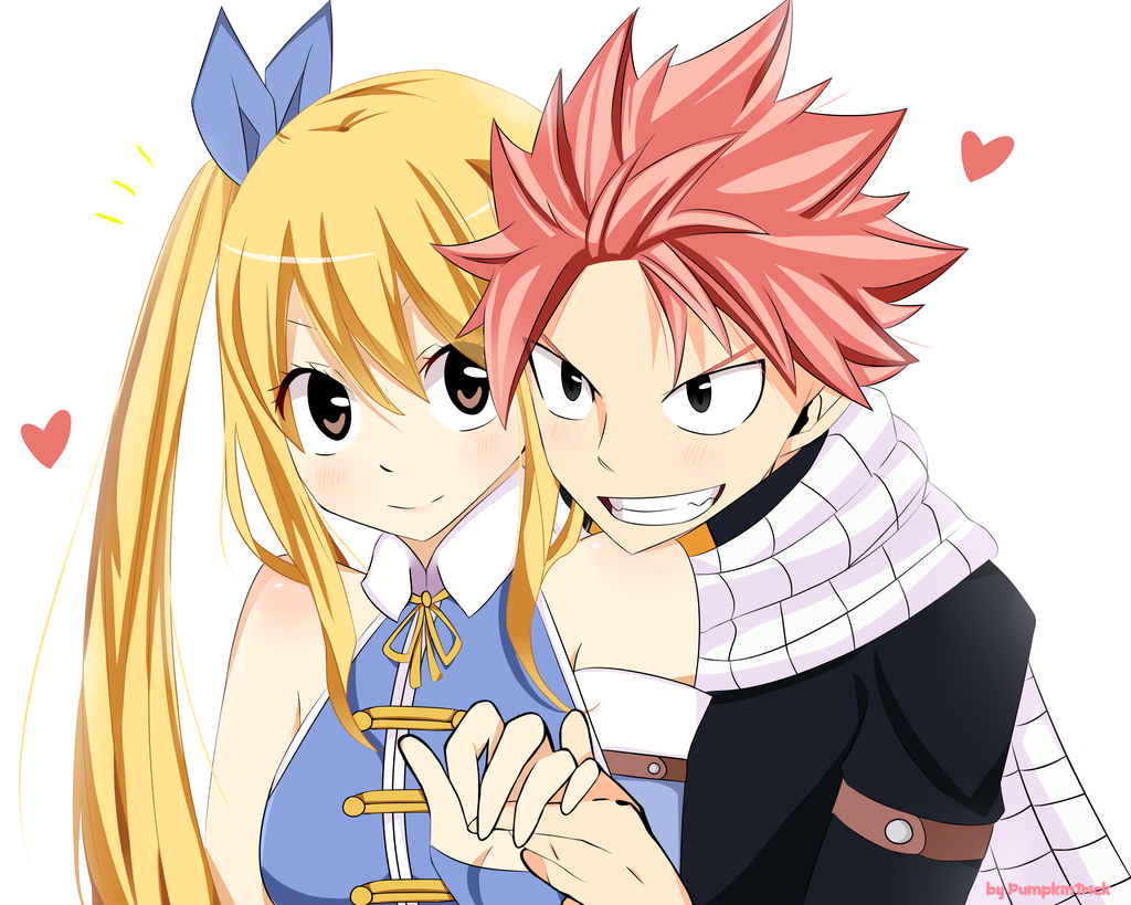 Fairy Tail Natsu Et Lucy
