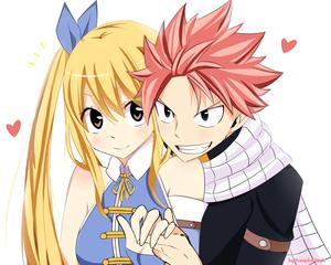 Natsu 😍 Lucy