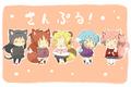 Neko Madoka cast - anime photo