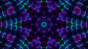 Neon Calidascope