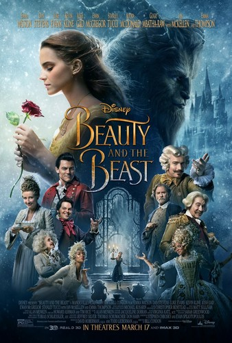 Beauty and the Beast (2017) Обои titled New Beauty and the Beast Poster