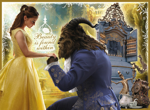 Beauty and the Beast (2017) wallpaper titled New promotional picture of Beauty and the Beast