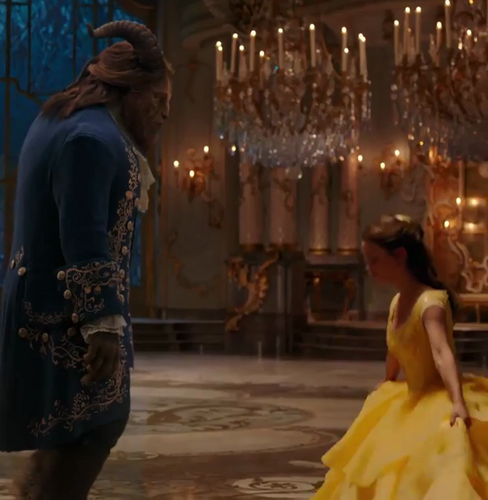Beauty and the Beast (2017) wallpaper titled New scenes of Beauty and the Beast