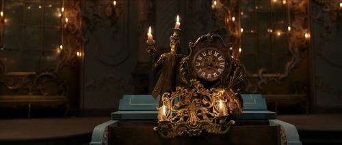 Beauty and the Beast (2017) karatasi la kupamba ukuta titled New screenshots from Beauty and the Beast Golden Globes TV Spot