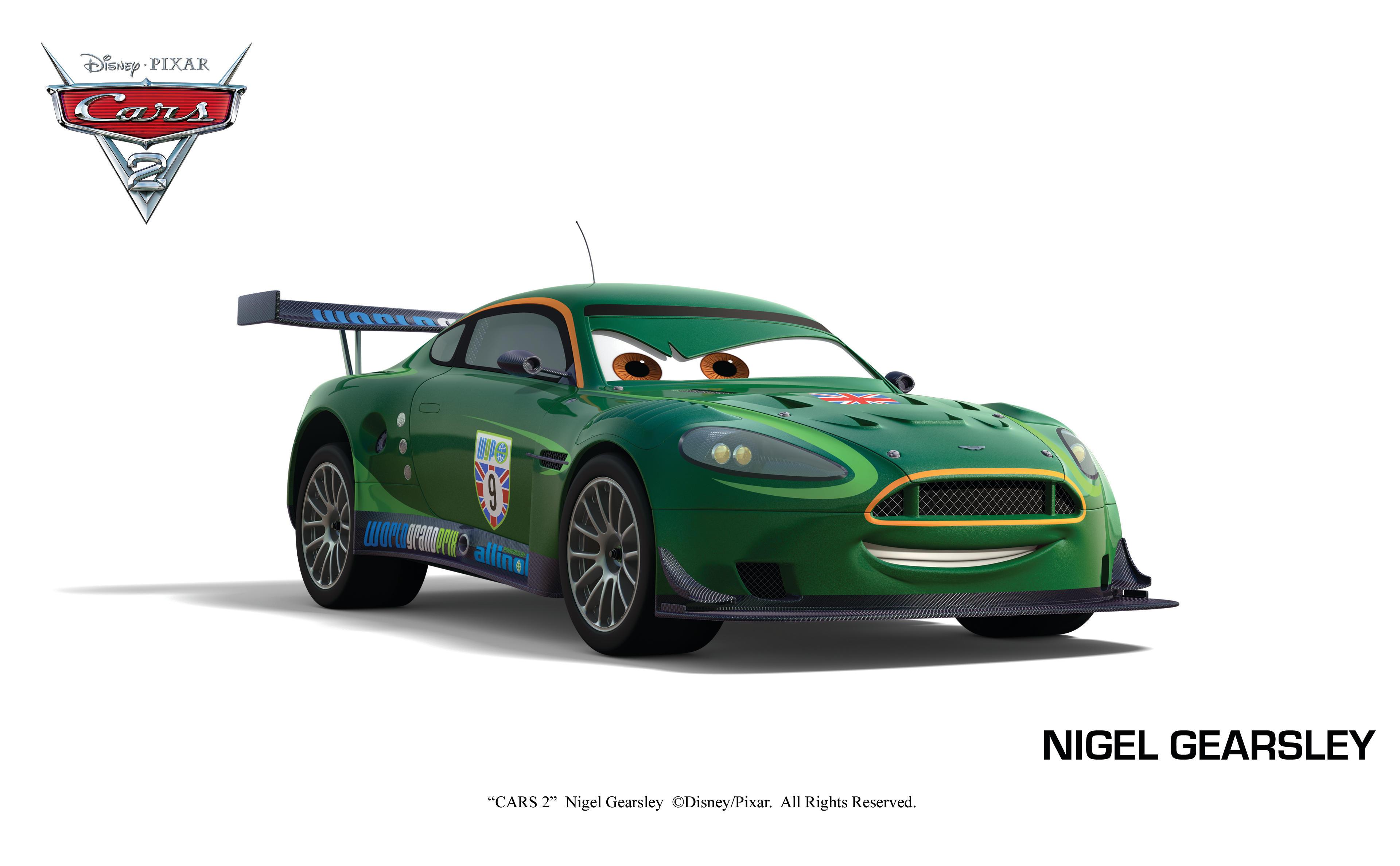 迪士尼皮克斯 《汽车总动员》