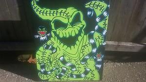 Nightmare Before pasko tagahanga art sa pamamagitan ng Samuel Moralez